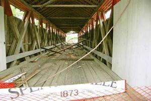 Covered bridge damage - file