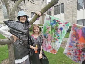 Record left behind love of art, children