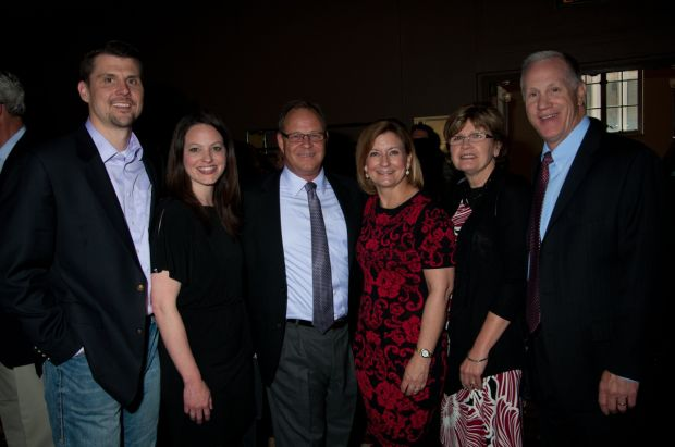 Jeff and Erin Dunn, Kevin and Lisa Sombart, Deb and Dale Kreienkamp
