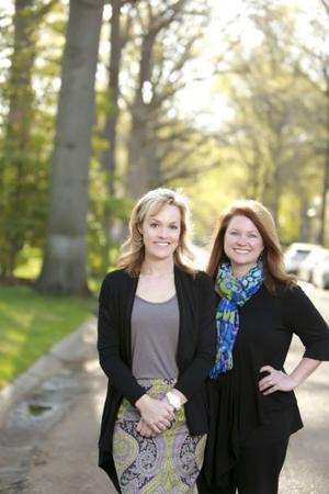 CWE Association president Amy Howell and Central West End House Tour chair Frances Thompson