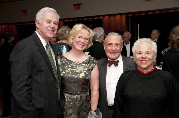 Dr. William and Mary Johnson, Dr. Gordon and Terry Bloomberg