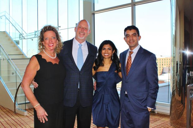 Nancy and D.J. Diemer, Avani and Mike Nayak