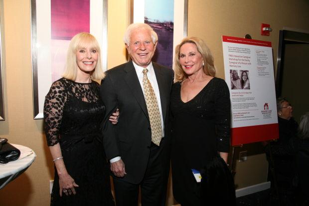 Diane and Ray Barrett, Pat Peck