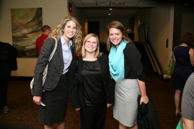 KC O'Brien, Sarah Wamser, Emily Donath