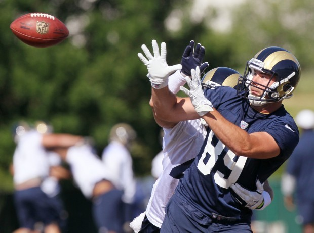 St. Louis Rams minicamp