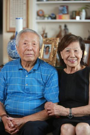 Bill and Anne Tao