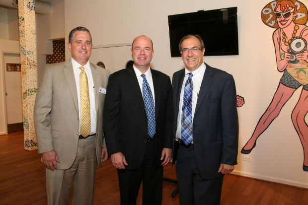 Jim Guest, Stan Wallach, Dan Glazier
