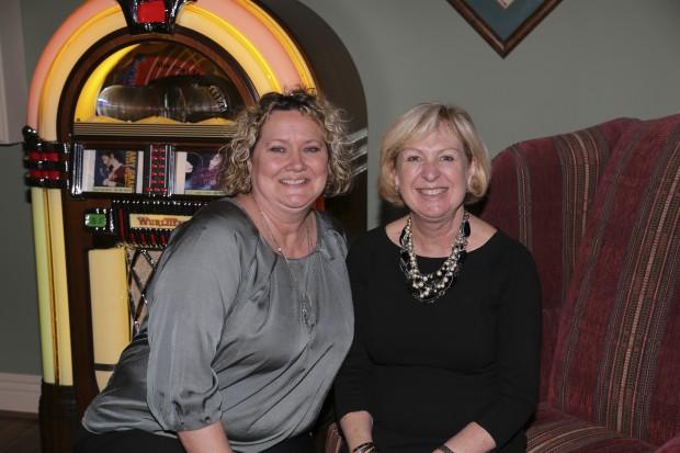 Linda Sanders, Julie Gustafson