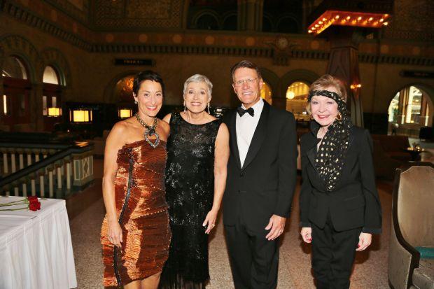 Susan Sherman, Alison and John Ferring, Donna Wilkinson