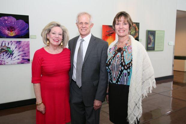 Judy and Ken Bass, Kathy Joslin