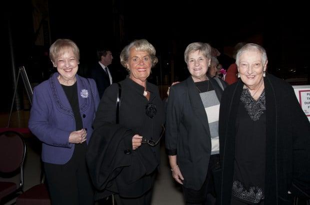 Joy Rouse, Sandy Buschmann, Barb Kilker, Janet Haefner