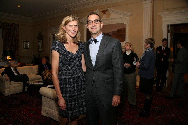 Julie and John Mozeliak