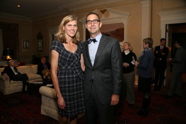 Julie and John Mozeliak
