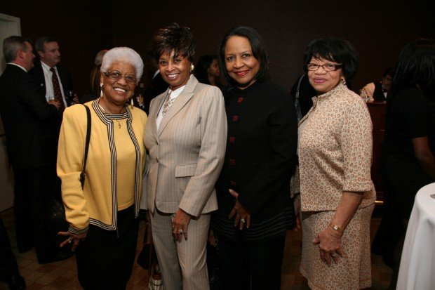 Mary Cannon, Jacquelin Johnson, Joyce Price, Catherine George