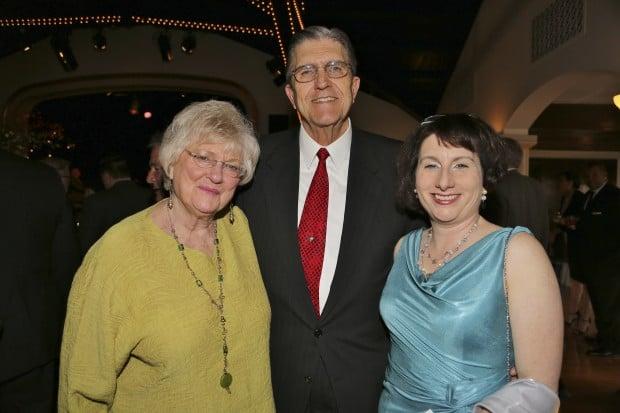 Peggy Symes, David Gifford, Nina Swartz