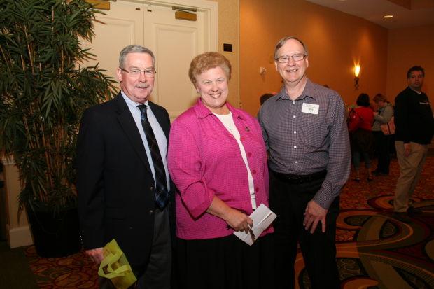 Ron Payton, Sister Barbara McMullen, Gil Weyhaupt