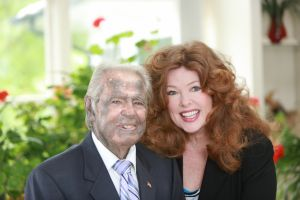 Diane Anderson and her dad, Walter Treppler
