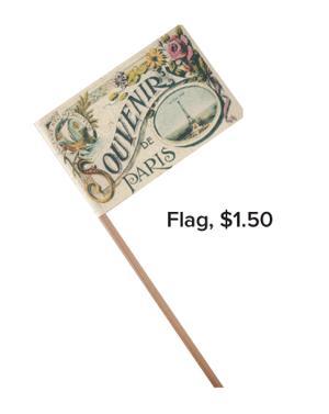 Flag, $1.50
