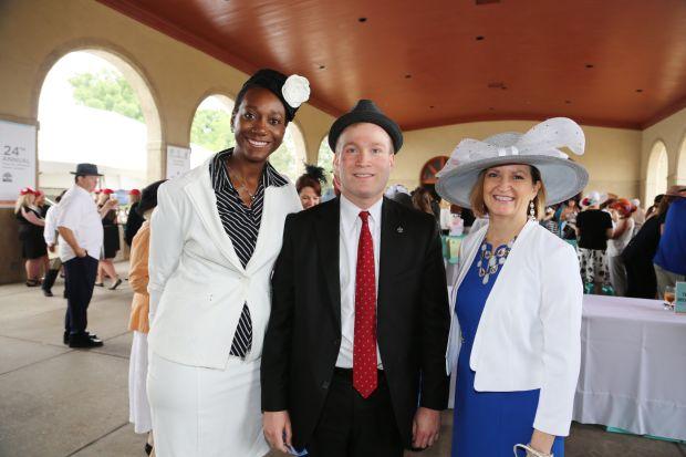 Tamara Sheffield, Peter Neidorff, Lesley Hoffarth president