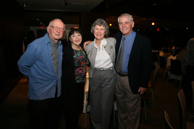 Leonard Karoll, Beverly Blitz, Julia and Gerald Amies