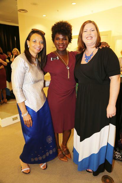 Cheryl Lee, Cathy Small, Christy Frauenhoffer