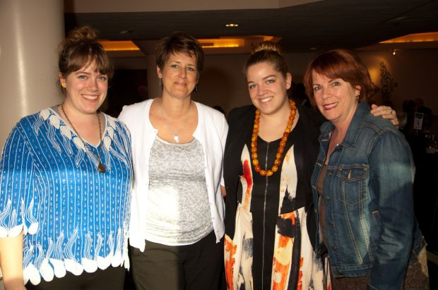Trina Van Ryn, Julie Lathan, Zannah Van Ryn and Debbie Van Ryn