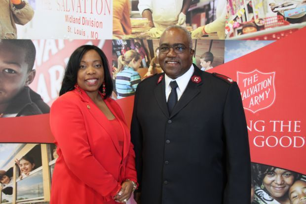 Dr. Sharilyn Franklin (Event Chair), Major Lonneal Richardson D.C.