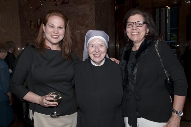 Jennifer Strada, Sr. Marie Catherine, Carol Shepard