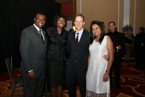 Charles and Vanessa Okwuraiwe, Scott Ellis, Savitha Narendra
