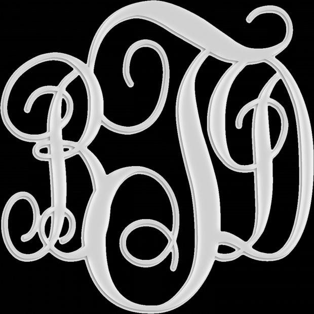 Melanie's monogram