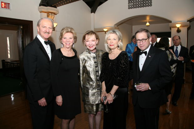 Bill and Marsha Rusnack, Donna Wilkinson, Noemi and Michael Neidorff