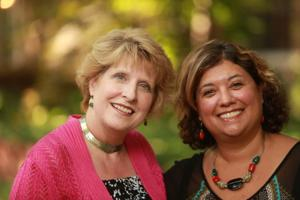 Anne Smith and Liz McGovern