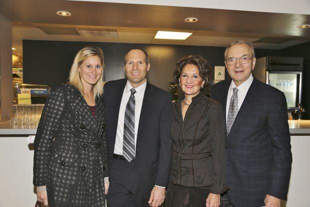 Sara Lipira, Keith Herman, George and Patricia Leontsinis