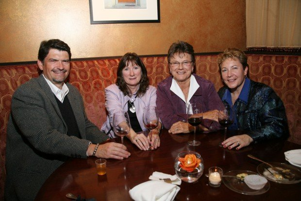 Ted and Gail Hoef, Sandra Ray, Tammy Gocial