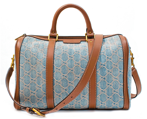 Must-Have: Gucci Denim Boston Bag