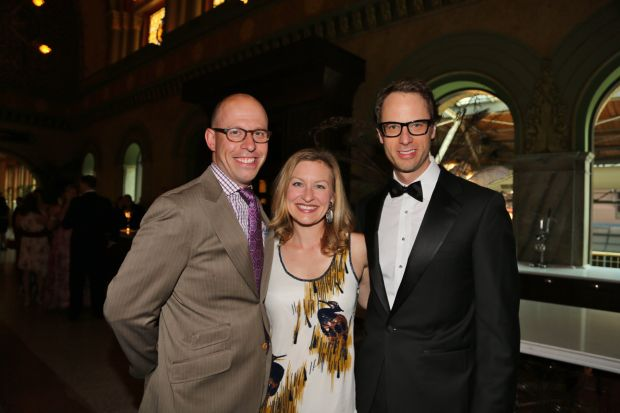 Marc and Katherine Lazar, Sam Foxman