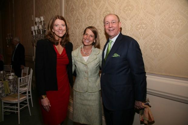 Julie Sward, Marty Chapman, Dr. Tim Eberlein