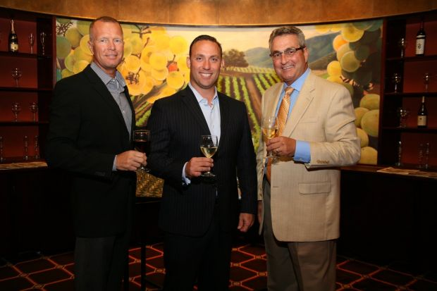 Business Co-Chair Carl Bolm, Chair Scott Neikamp, Steve Noles