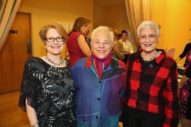 Sheila Greenbaum, Terry Bloomberg, Vida Prince