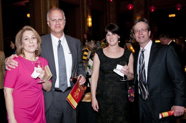 Robyn and Scott Meyer, Carol and Dr. Kevin Blinder