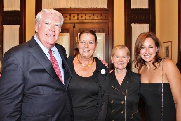 Dan and Susan Rabbitt, Elizabeth Mosker, Laura Schlaprizzi