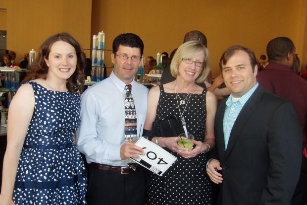 Sarah and Todd Kaye, Lynn Delearie, Kevin Pumm
