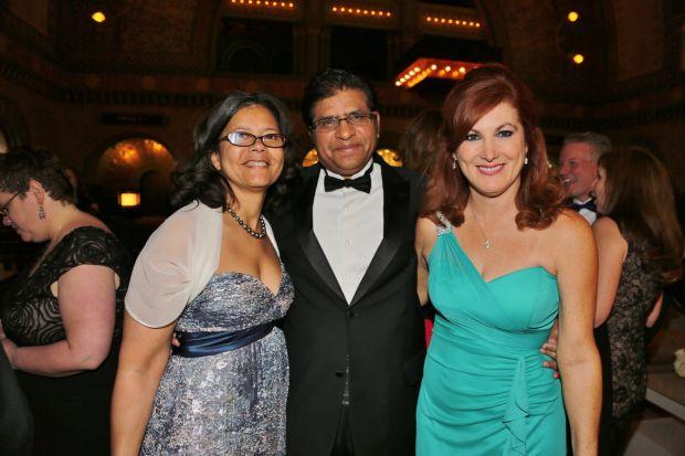 Hazel Donald, Irshad Sheikh, Sally Rapp