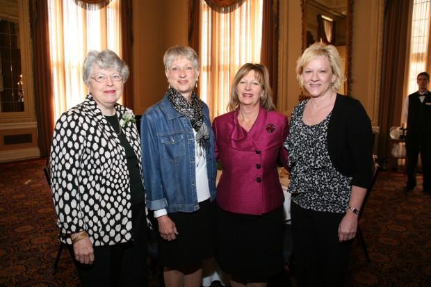 Judith Hanses, Rose Garland, Gail Jorgenson, Lynn Schulte