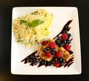Grilled Chicken w Pasta recipe by The Art of Entertaining