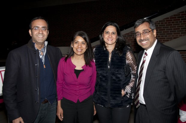 Atul Kamra, Sunita Gupta, Anjali Kamra, Mahendra Gupta