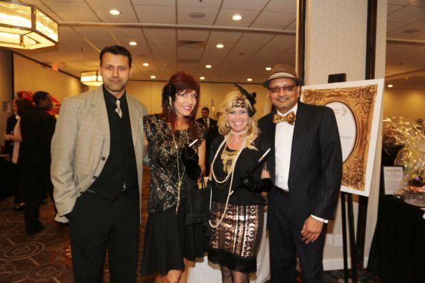 Dr. Amod Paranjpe, Tammy Hartz, Nancy Vencill, Shy Patel