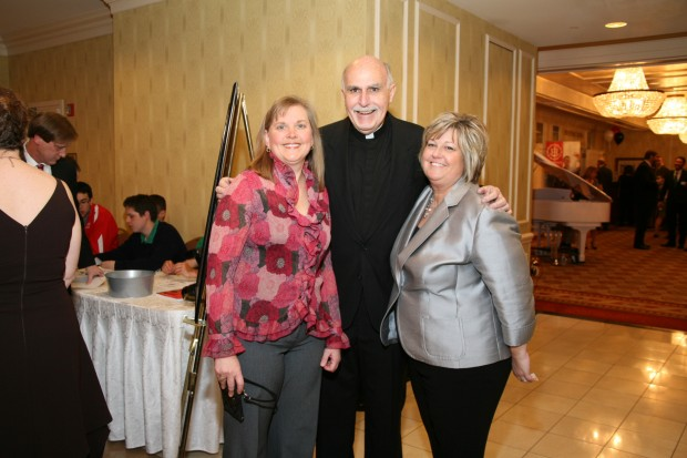 Michelle Renner, President Rev. Ralph Siefert, Tracy Bowler
