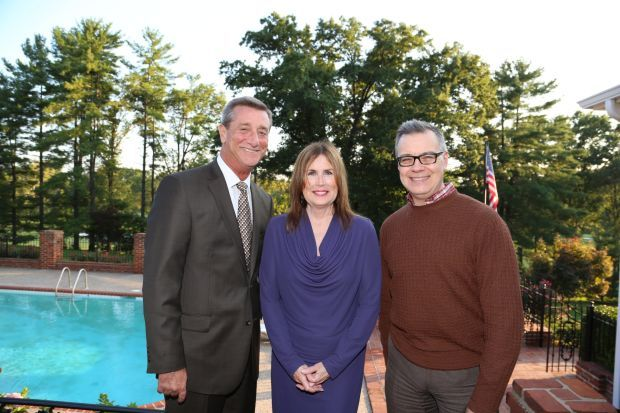 Denny Reagan president Muny, Cynthia Prost President Arts and Education Council, Jack Lane of Stages