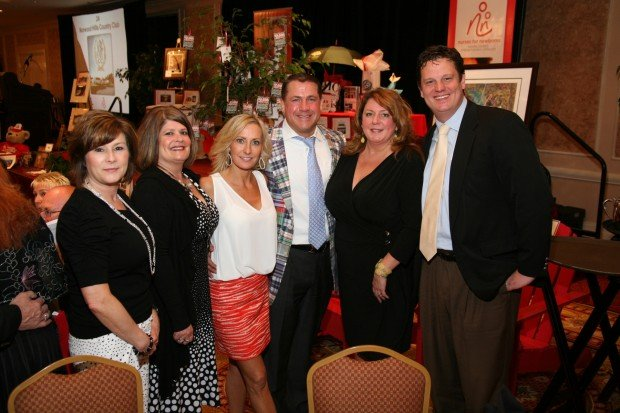 Angi Stevenson, Cookie Hines, Kirstie Dean, Jim Dean, Jack and Lisa Dudek